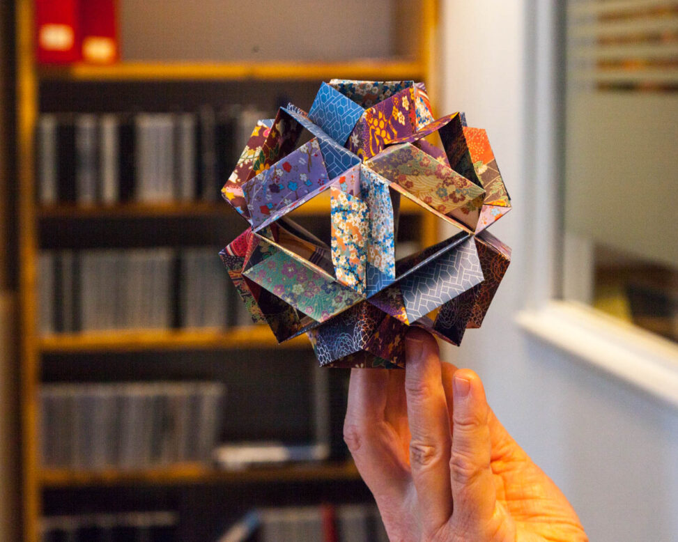 Origami laget av en innsatt i fengselet