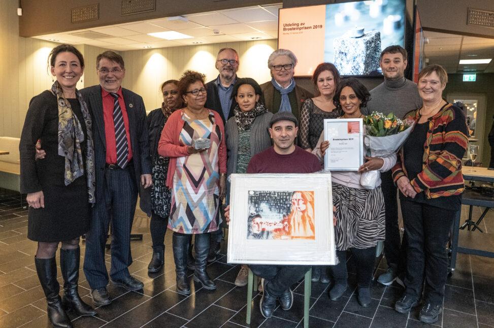 Mottakerne av Brosteinprisen 2019 - Gunnar Stålsett, Mennesker i Limbo og Arne Viste