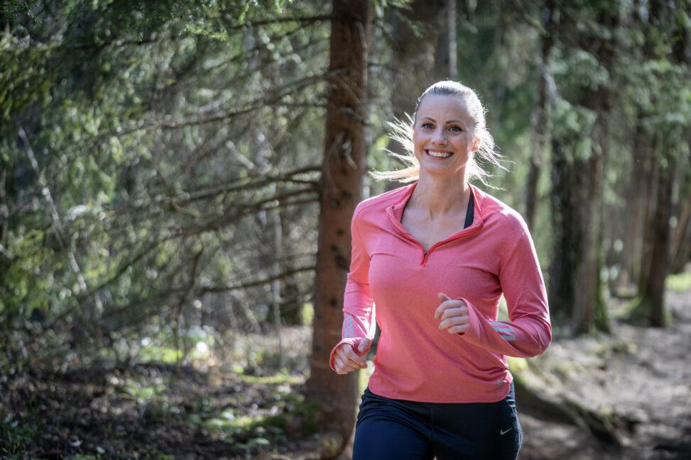 Silje Sandmæl jogger