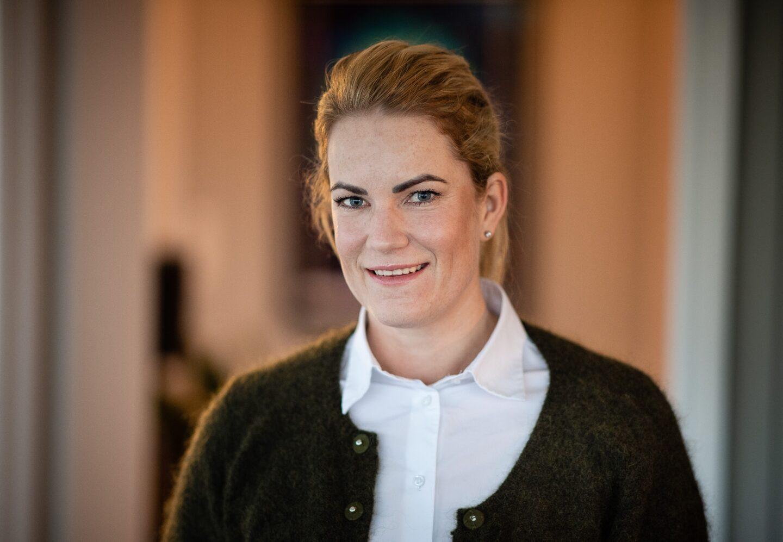 Kristin Claudi, daglig leder Norengros Drammen Papir Engros